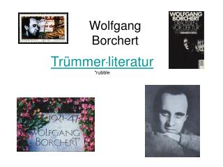 Trümmer * literatur *rubble