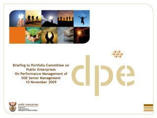 Briefing to Portfolio Committee on Public Enterprises On Performance Management of