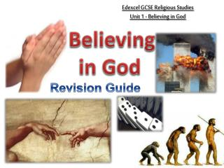 Edexcel  GCSE Religious Studies Unit 1 - Believing in God