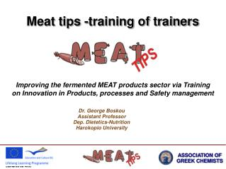 Meat tips -training of trainers