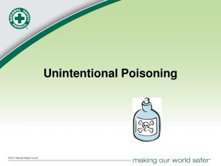 Unintentional Poisoning