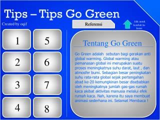 Tips – Tips Go Green