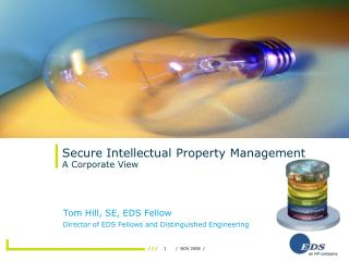 Secure Intellectual Property Management A Corporate View