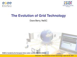 The Evolution of Grid Technology