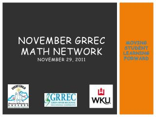 NOVEMBER GRREC MATH NETWORK November 29, 2011