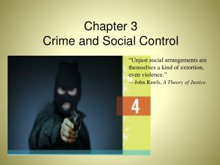 Chapter  3 Crime and Social Control