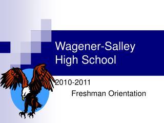 Wagener-Salley High School