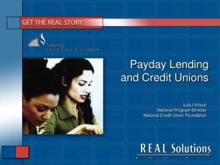 Payday Lending and Credit Unions