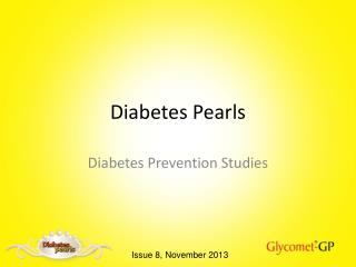 Diabetes Pearls