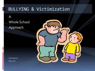 BULLYING & Victimization