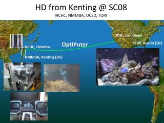 HD from  Kenting  @ SC08 NCHC, NMMBA, UCSD, TORI