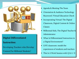 Digital Differentiated Instruction: