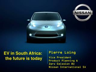 EV in South Africa:  the future is today