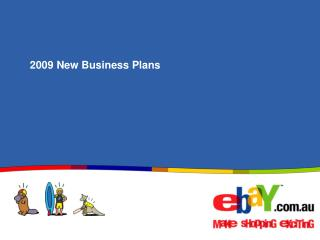 2009 New Business Plans