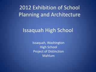 Issaquah High School