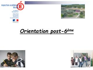 Orientation post-6 ème