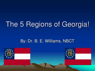 The 5 Regions of Georgia!