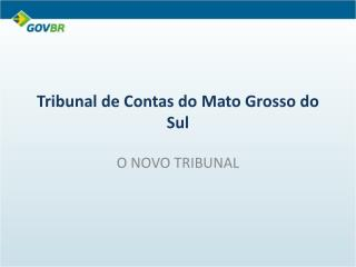 Tribunal de Contas do Mato Grosso do Sul