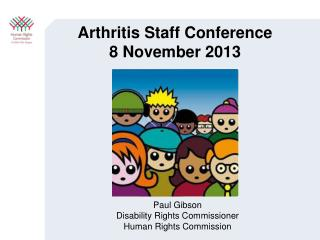 Arthritis Staff Conference 8 November 2013