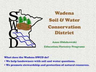 Wadena  Soil & Water  Conservation District