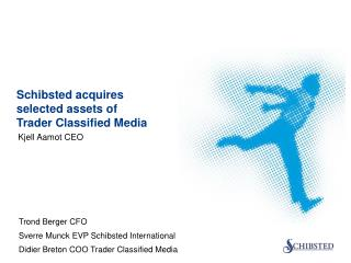 Schibsted acquires selected assets of  Trader Classified Media