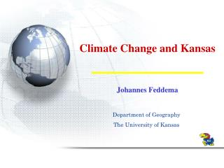 Climate Change and Kansas