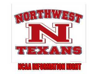 NCAA INFORMATION NIGHT
