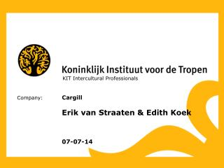 KIT Intercultural Professionals