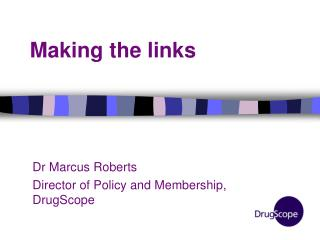 Making the links