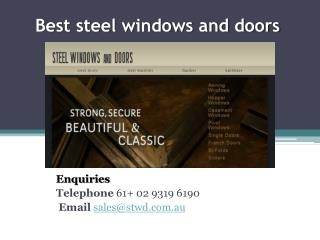 affordable steel doors