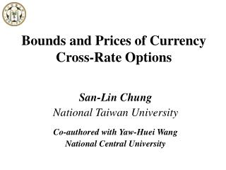 Bounds and Prices of Currency Cross-Rate Options