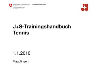 J+S-Trainingshandbuch Tennis