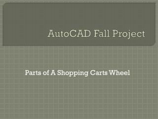 AutoCAD Fall Project