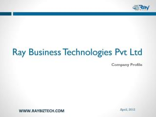 Ray Business Technologies Company Profile - Presentation