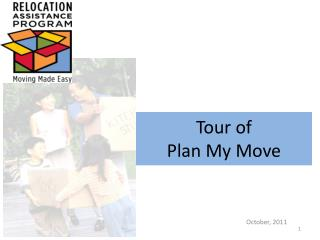 Tour of  Plan My Move