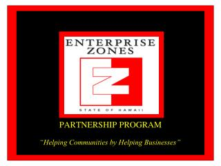 PARTNERSHIP PROGRAM