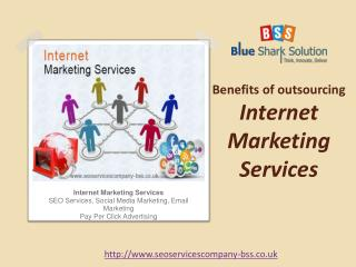 Benefits of outsourcing internet marketing services: