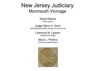 New Jersey Judiciary Monmouth Vicinage