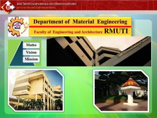 Department of  Material  Engineering