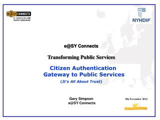 e@SY Connects   Transforming Public Services