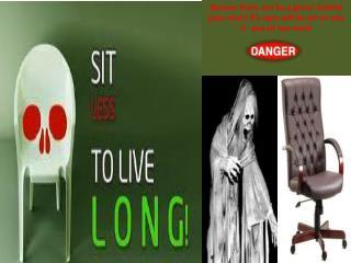 Detrimental effects of sitting