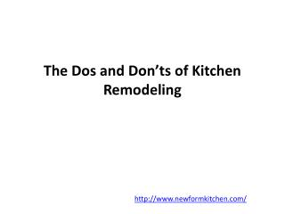 Remodeling Kitchen Orange County
