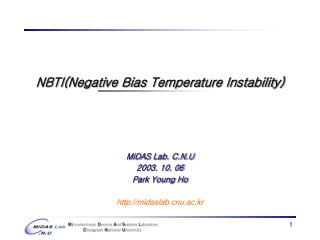 NBTI(Negative Bias Temperature Instability)