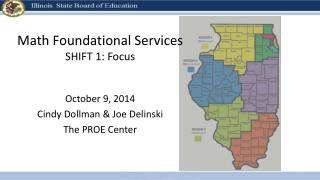 Math Foundational Services SHIFT 1: Focus
