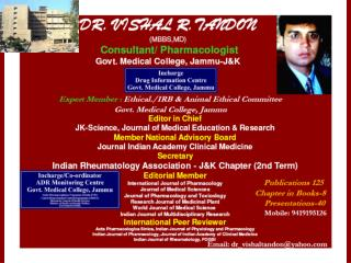 Innovations in Undergraduate Pharmacology Teaching and Training