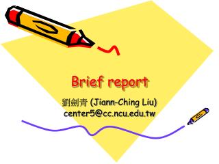 Brief report