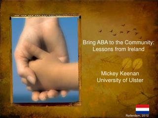 Bring ABA to the Community: Lessons from Ireland