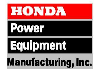 Honda Power Equipment Manufacturing, Inc. Swepsonville, NC