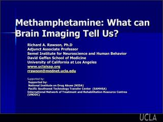 Methamphetamine: What can Brain Imaging Tell Us?