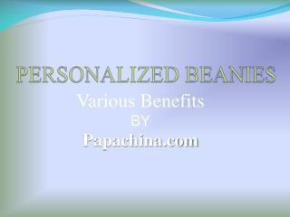 Wholesale Beanies, Personalized Beanies, Custom Beanies